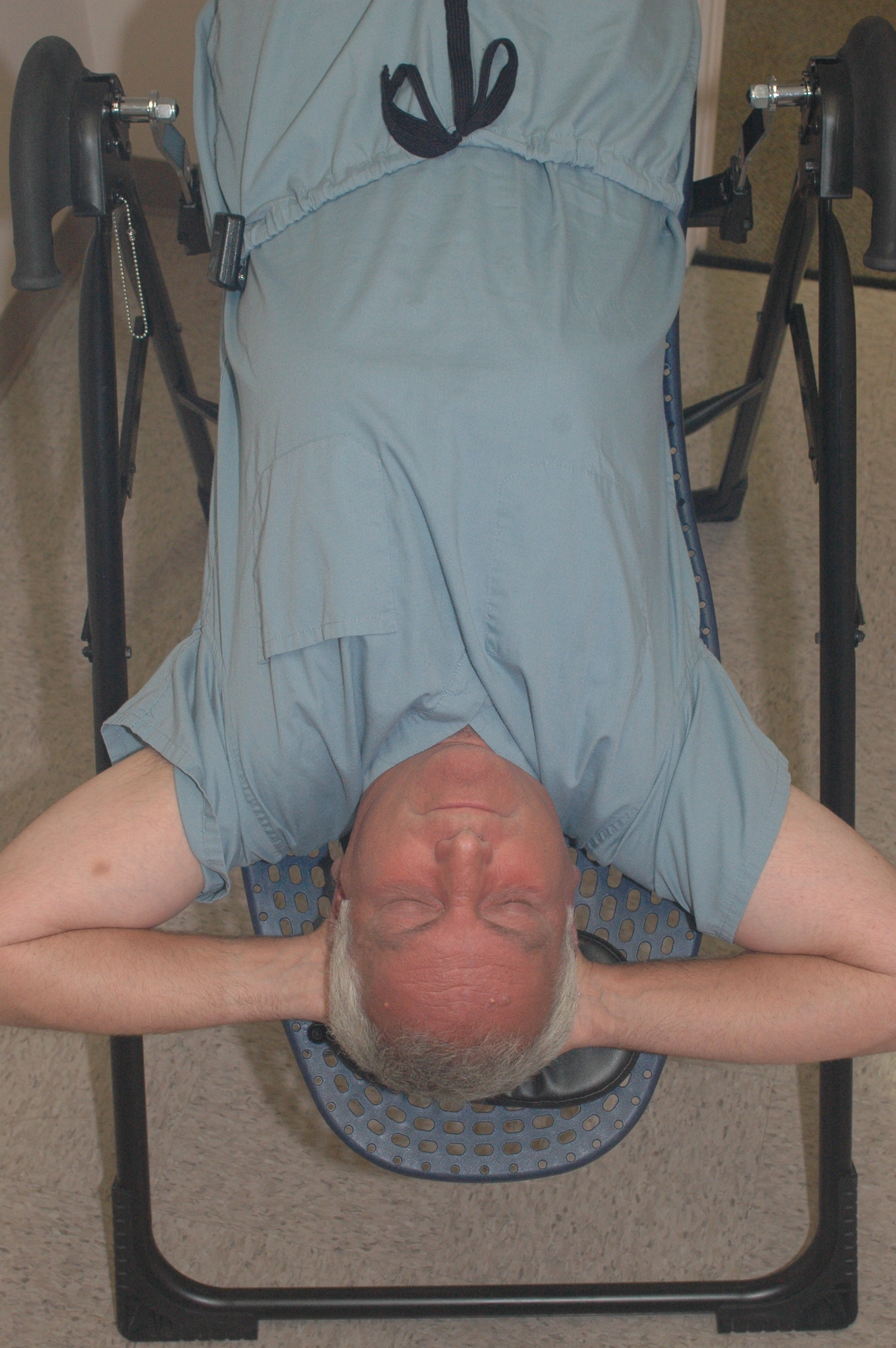 The staff and I find inversion to be pleasant and relaxing.  I invert for at least 15 minutes a day.
