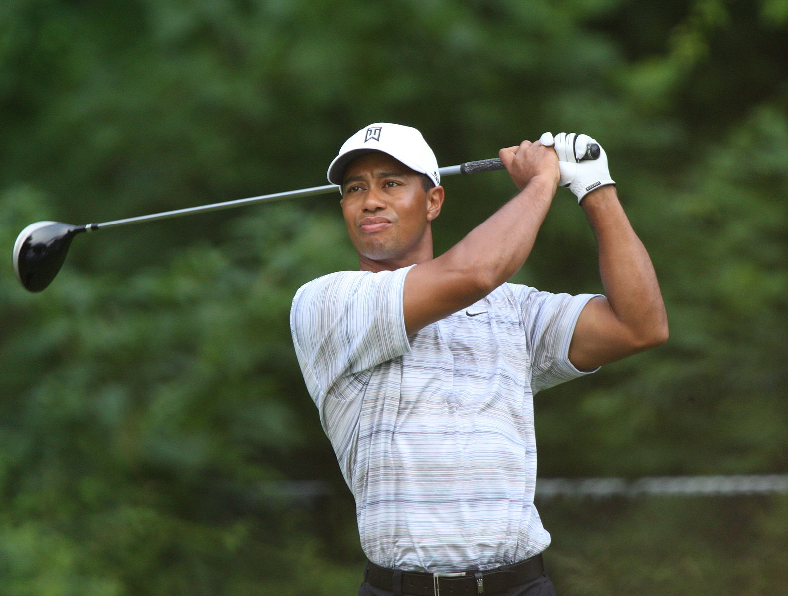 It seems as if Tiger has taken one of the great swings in the history of golf and systematically destroyed it.