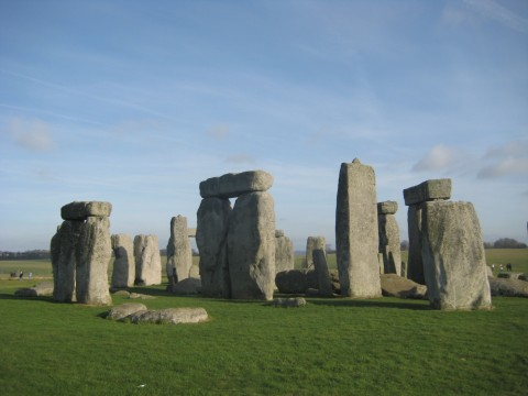 While not as large as Stonehenge ...