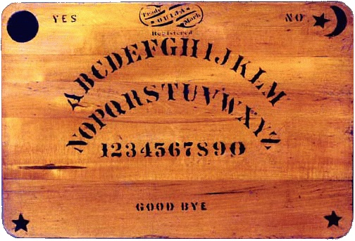 I have not yet resorted to a ouija board in the elucidation of medical diagnoses and the formulation of treatment plans, despite what some of my patients may say!