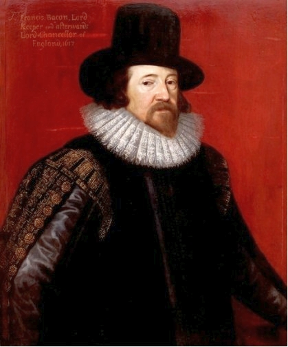 """Francis Bacon is widely considered to be the father of the scientific method and an unwavering advocate of empiricism. """"Pourbus Francis Bacon"""" by Frans Pourbus the younger - www.lazienki-krolewskie.pl. Licensed under Public Domain via Wikimedia Commons - http://commons.wikimedia.org/wiki/File:Pourbus_Francis_Bacon.jpg#mediaviewer/File:Pourbus_Francis_Bacon.jpg"""