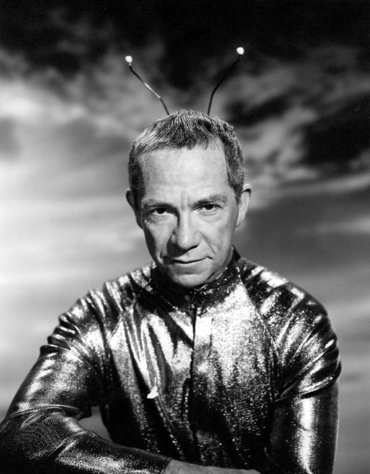 If you recognize this picture of Ray Walston,you must be as old as I am.